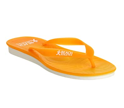 bc57212a7 Beach Athletics Sttropez Flip Flop Orange - 6 UK  Amazon.co.uk ...