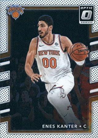 be13c3e1ca8 2017-18 Donruss Optic #104 Enes Kanter New York Knicks Basketball Card
