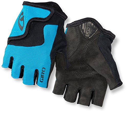 (Giro Bravo JR Cycling Gloves - Kid's Blue Jewel X-Small)