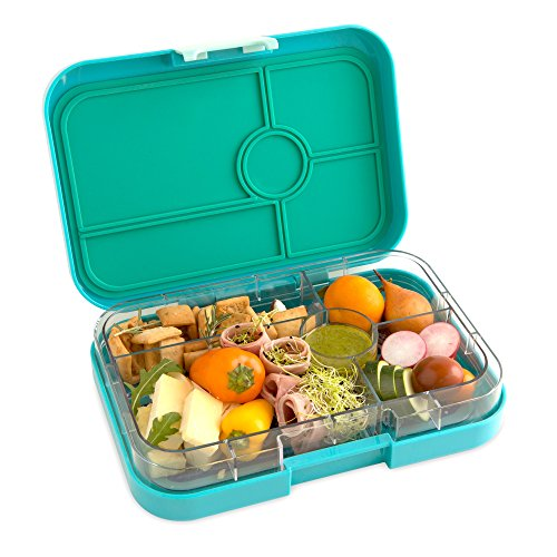 with mk yumbox tapas larger size antibes blue leakproof bento lunch box for adults teens pre. Black Bedroom Furniture Sets. Home Design Ideas