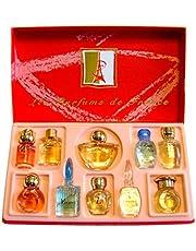 Charrier Parfums Luxe Top Ten Coffret de 10 Eau de Parfums Miniatures Total 53,3 ml