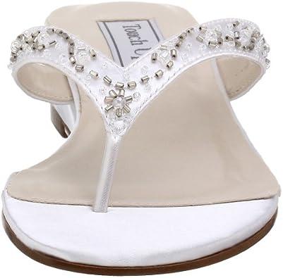 Touch Ups Womens Jinni Dyeable Sandal