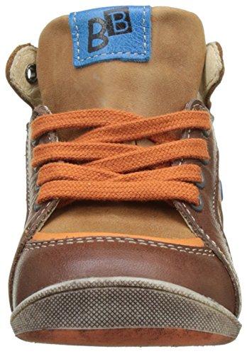 babybotte Fleuve - Zapatos de primeros pasos Bebé-Niñas marrón (marrón)