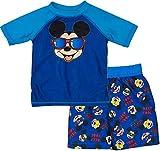 Toddler Boy Mickey Mouse Rash Guard Set