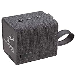 Custom Fortune Fabric Bluetooth Speaker- Speaker (Black) – 100 PCS – $34.78/EA – Promotional Product/Branded with Your…