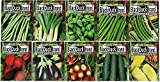 Set of 20 of Our Favorite Premium Variety Vegetable Seeds 10 Or More Varieties - Deluxe Garden Choices for Premium