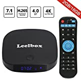 [2018 Edition] Leelbox Q2 pro Android 7.1 TV Box 2GB+16GB Dual-WIFI 2.4GHz/5GHz with BT 4.0 Supporting 4K (60Hz) Full HD Smart TV Box