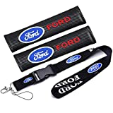type1 Automelody 2pcs A pack Seat Belt Cover Shoulder Protective Cushion Pads For Ford