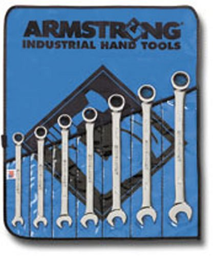 Armstrong 25-667 10 Piece SAE Geared Combination Wrench Set by Apex Tool Group