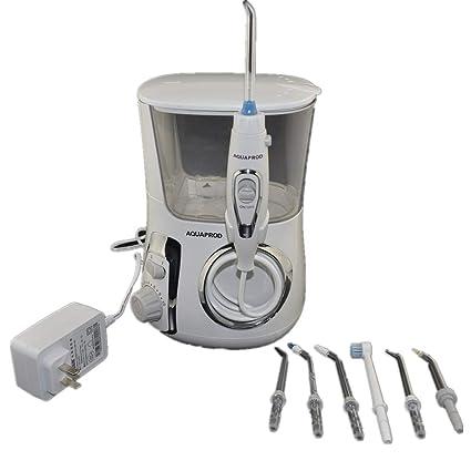 ZQG BEAUTY Rojo Diente eléctrico Limpiador de Dientes de Agua máquina de Seda Dental portátil con