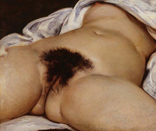 kunst für alle Art Print/Poster: Gustave Courbet The Origin of The World 1866