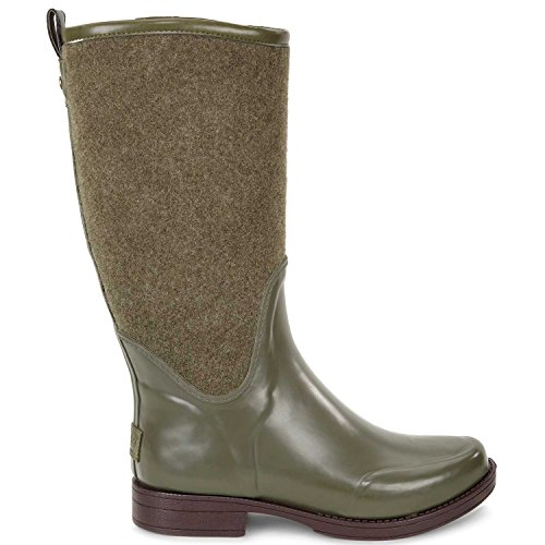 Women's Ugg Reignfall Waterproof Rain Boot, Size 6 M - Green