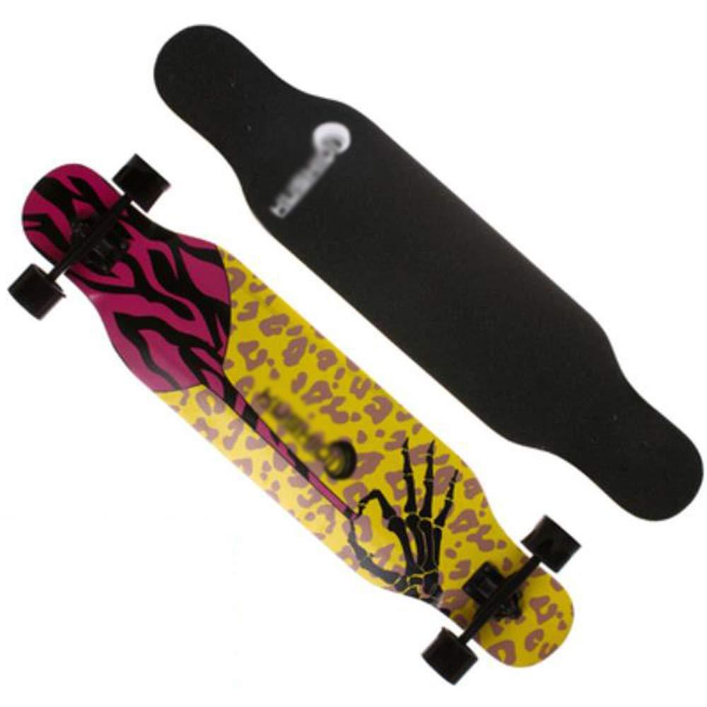 Longboard Maple Skateboard, Highway-Allrad-Skateboard, Tanzboard für Jungen und Mädchen, Skateboard für Erwachsene, Anfänger, Mädchen, Junge, Kind, Skateboard für Erwachsene (Farbe   A) B07Q17ND5N Longboards Clever und prakti