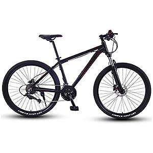 51qZH6tw9fL. SS300 NENGGE Mountain Bike, 27.5 Pollici Grande Pneumatico Hardtail Mountain Biciclette, Telaio Alluminio Leggero Front…