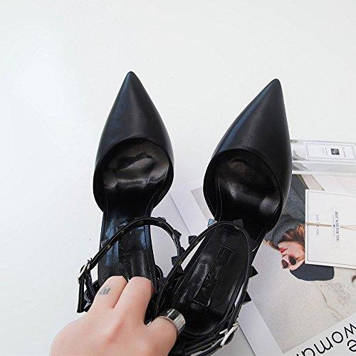 Talons Tongs Sandales li Bas Pour Chaussures Heelswomen Bajian Femme Sandales Haute Haut Été xvYdqwRn4