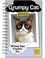 Grumpy Cat Classic Weekly 2022 Planner: September 2021-december 2022
