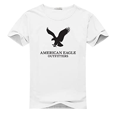 c8bbefd280 Hpyeed American Eagle Outfitters Logo for Men Printed Short Sleeve Tee  T-shirt