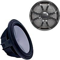 Wet Sounds Revo 10 Subwoofer & Grill - Black Subwoofer & Black Closed Face SW Grill - 2 Ohm