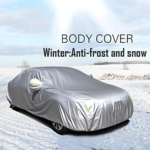 OCPTY Universal Car Cover Up to 190