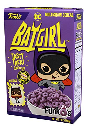 Funko Pop Cereal MULTIGRANO Y Pocket Batgirl Exclusivo