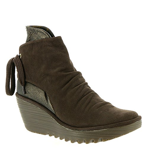 Boots Chocolate Ankle Yama Fly London Bronze Tnfq6qtw
