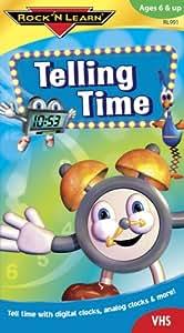 Amazon.com: Rock 'N Learn: Telling Time [VHS]: Rock 'N ...