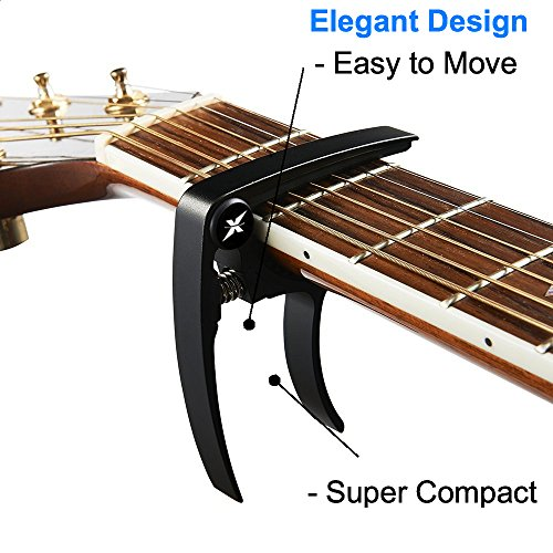 guitarx x3 guitar capo acoustic and electric guitars ultra import it all. Black Bedroom Furniture Sets. Home Design Ideas