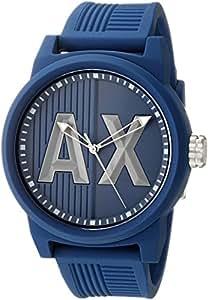 Armani Exchange Men's AX1454 Blue Silicone Watch