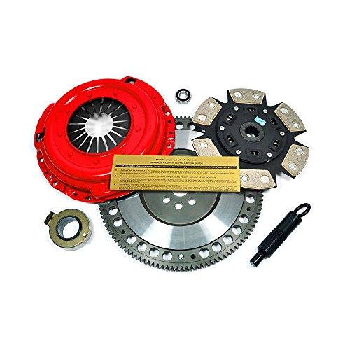 (EFT STAGE 3 CLUTCH KIT+FLYWHEEL FOR AUDI TT VW GOLF JETTA BEETLE 1.8L 1.8T 1.9L TDI)