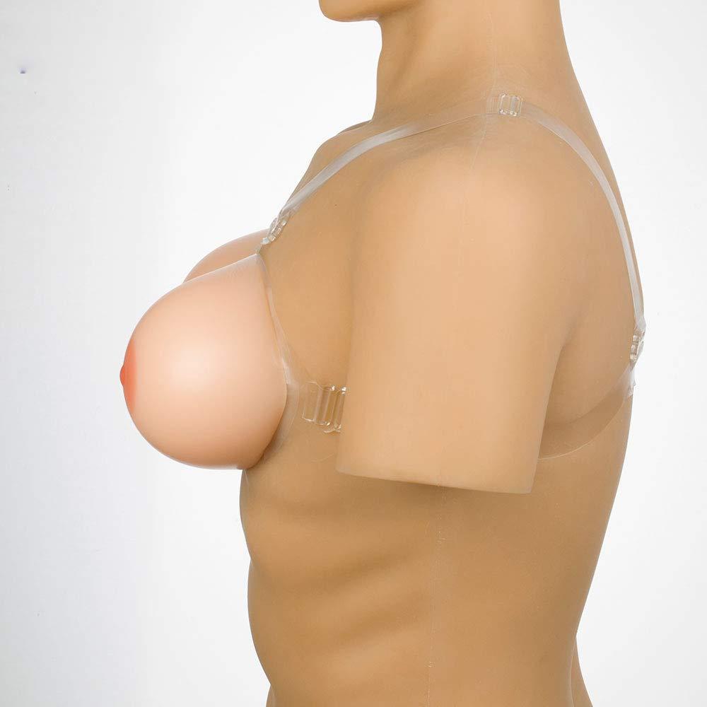 10XL Silicone Breast, Fake Breasts  Round Silicone Breast  Disguise Conjoined Silicone Breast Milk  Large Size S14XL  Breast Augmentation Silicone Fidelity 100%.