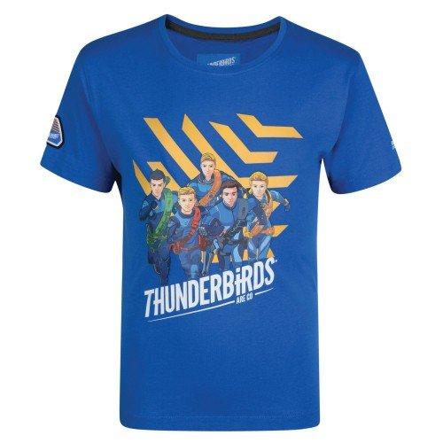 Regatta Thunderbirds Childrens/Kids Official Heatshield Short Sleeve T-Shirt (5-6 Years) (Oxford Blue)