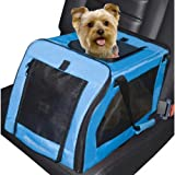 Signature Pet Car Seat Carrier Aqua 4 pack 20'' x 13'' x 12''