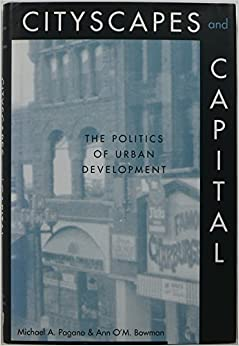 Book Cityscapes and Capital: The Politics of Urban Development
