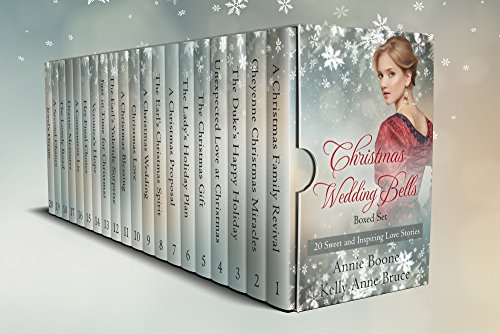 Christmas Wedding Bells Boxed Set: 20 Sweet and Inspiring Love Stories cover