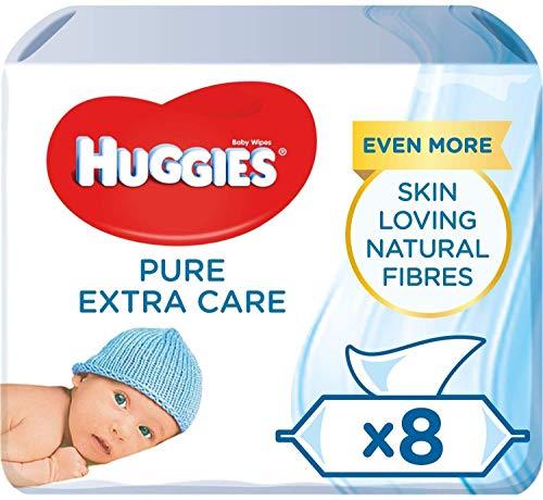 🥇 Huggies Pure Extra Care Toallitas para bebé.