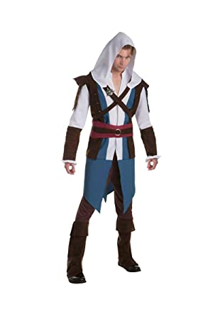 Disfraz Edward clásico Assassins creed adulto Única: Amazon.es ...