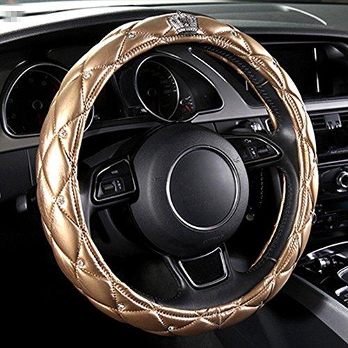 sino-banyan-steering-wheel-coverpu-leather-with-crystal-crown-diamond15gold
