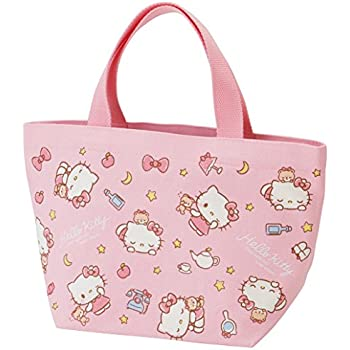 2887515eb Amazon.com: Skater Sanrio Hello Kitty Canvas Lunch Tote bag