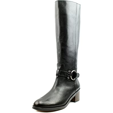 Coach Leather Logo Boots cheap with credit card cheap sale new styles cheap footlocker cudxZaCT