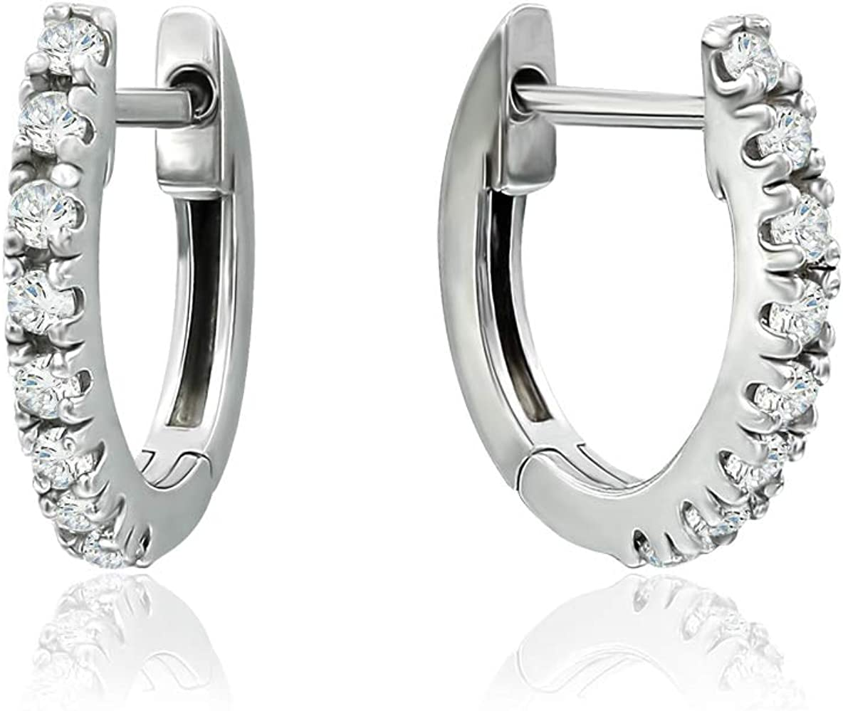 Sterling Silver CZ Cubic...