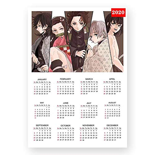 Zzeroe Demon Slayer: Kimetsu no Yaiba Poster Prints, Anime Scrolls Poster Banners for Collect Home Wall Bedroom Decoration, 4229CM(H01) from Zzeroe