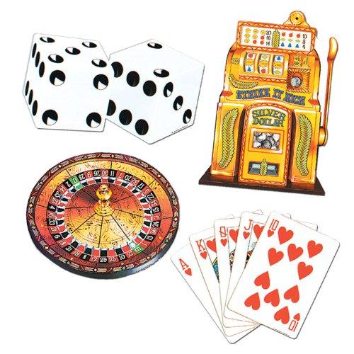 Vegas Cutouts   (4/Pkg)