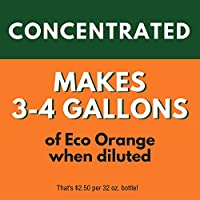 Eco Orange 32-Ounce Concentrate - 3-4 gallons