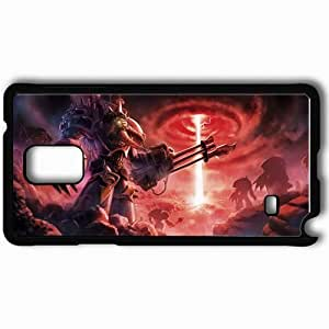 Personalized Samsung Note 4 Cell phone Case/Cover Skin Art Funnel Beam Metal Weapon War Black