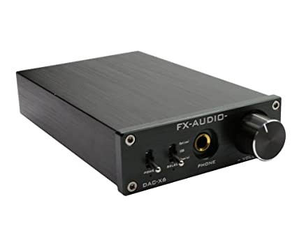 FidgetFidget Audio DAC-X6 HiFi Optical/Coaxial/USB Digital Audio Amplifier DAC Decoder