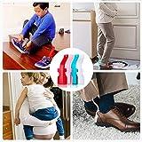 Lazy Shoe Helper, Portable Sock Slider Handled Shoe