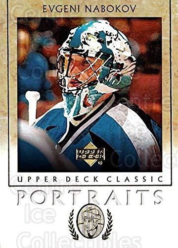 (CI) Evgeni Nabokov Hockey Card 2002-03 UD Classic Portraits (base) 83 Evgeni Nabokov