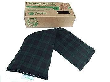 Saco térmico de trigo y lavanda para microondas (incluye caja de regalo)