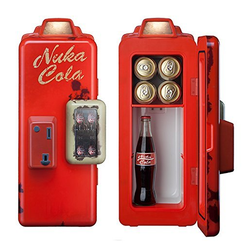 Cheapest Price! Fallout Nuka Cola Machine Mini Refrigerator