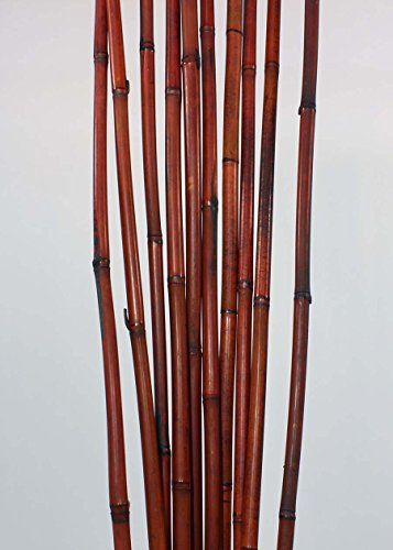 Green Floral Crafts Decorative Bamboo Poles 3 5 Ft